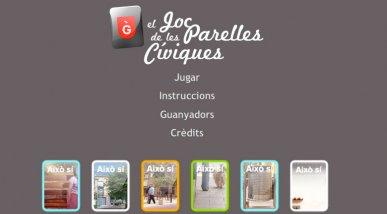 Ajuntament de Gavà: Joc de les parelles cíviques
