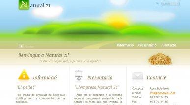 Web per Natural21