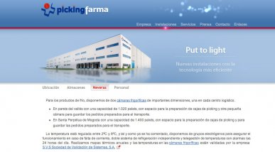 Web per Picking Farma