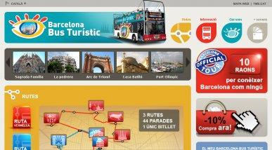 TMB: Web Barcelona Bus Turístic