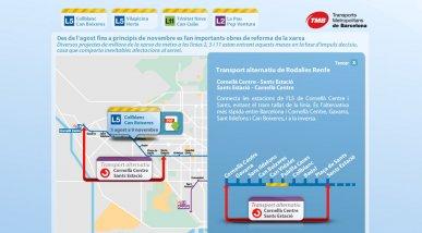 TMB: Incidències al metro de Barcelona