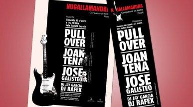 Cartell concert Nugallamandra