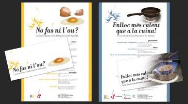 Cartell cursos Aula Hostaleria del Ripollès