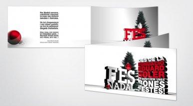 Felicitació de Nadal del FES