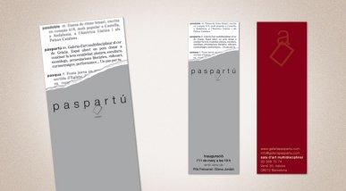 Imatge corporativa i invitació i tarja Paspartú