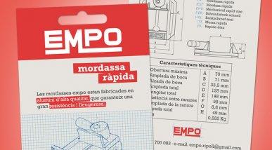 Díptic i pack EMPO