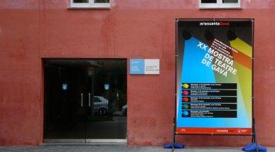 Cartells i banderoles per la mostra de Teatre de Gavà