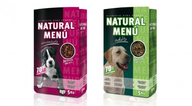 Gama Pack Natural Menu
