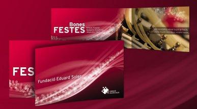Felicitació de Nadal Fundació Eduard Soler