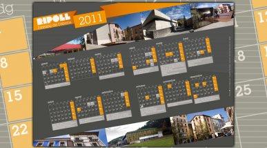 Calendari Ajuntament de Ripoll 2011