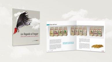 """Llibret """"La llegada al hogar"""""""