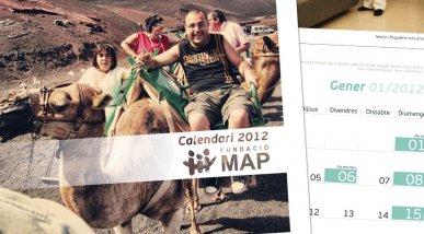 Calendari 2012 Fundació MAP