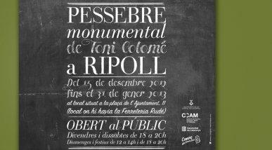 Cartell Pessebre Monumental