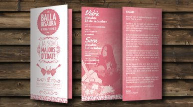 Roll-up i triptic BallaBisaura 2013